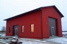 Abihoone ehitustööd eramajale