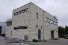 Büroohoone ehitustööd