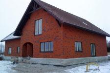 Eramaja ehitustööd.
